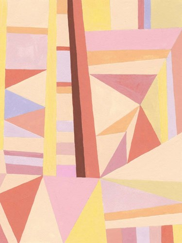 Blush Structure II art print by Nikki Galapon for $63.75 CAD