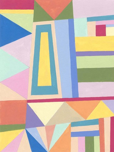 Confetti Structure I art print by Nikki Galapon for $63.75 CAD