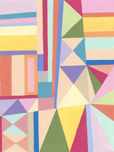 Confetti Structure II art print by Nikki Galapon for $63.75 CAD