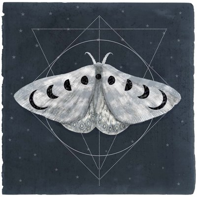 Midnight Moth II art print by Victoria Borges for $53.75 CAD