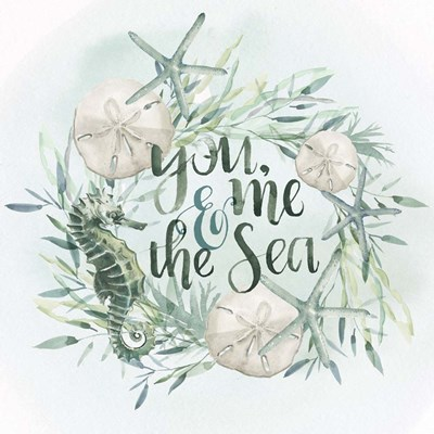 Drawn to the Sea I art print by Jennifer Parker for $32.50 CAD