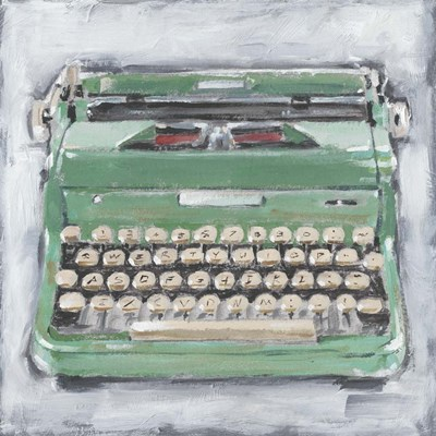 Vintage Typewriter II art print by Ethan Harper for $53.75 CAD