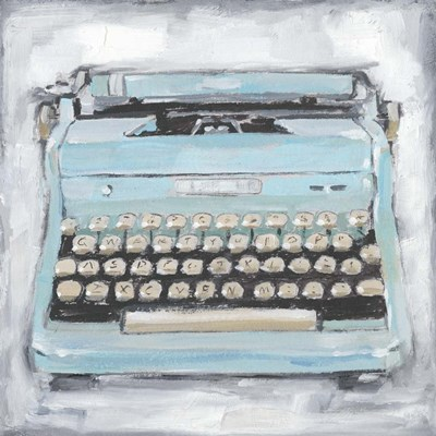 Vintage Typewriter III art print by Ethan Harper for $53.75 CAD