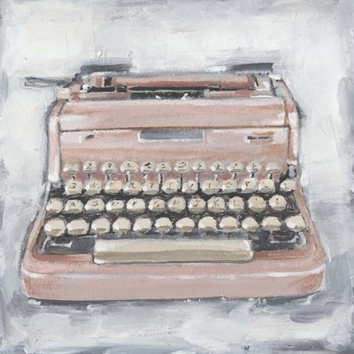 Vintage Typewriter IV art print by Ethan Harper for $53.75 CAD