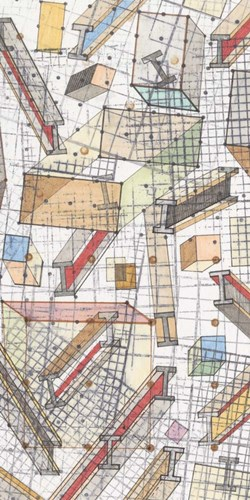 Funky Grid II art print by Nikki Galapon for $50.00 CAD