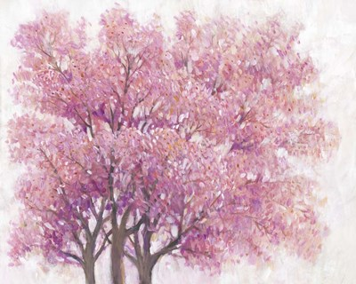 Pink Cherry Blossom Tree I art print by Timothy O'Toole for $53.75 CAD