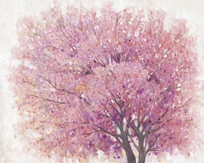 Pink Cherry Blossom Tree II art print by Timothy O'Toole for $53.75 CAD