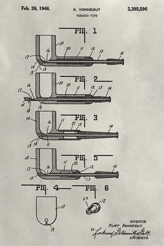 Patent--Pipe art print by Alicia Ludwig for $42.50 CAD