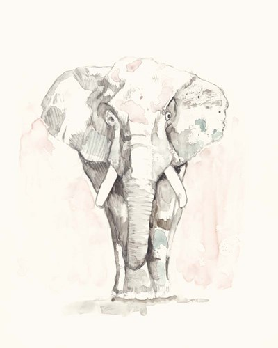 Pastel Safari II art print by Jennifer Goldberger for $53.75 CAD