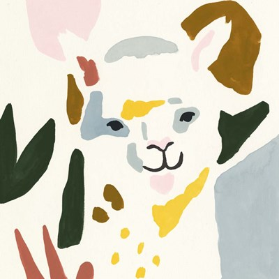 Llama Moderne I art print by Victoria Borges for $53.75 CAD