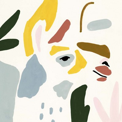 Llama Moderne III art print by Victoria Borges for $53.75 CAD