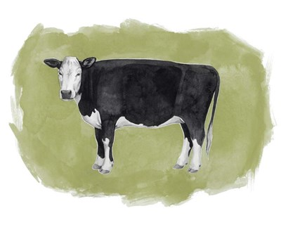 Hereford Graze II art print by Grace Popp for $53.75 CAD