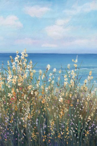 Flowers at the Coast II art print by Timothy O'Toole for $77.50 CAD