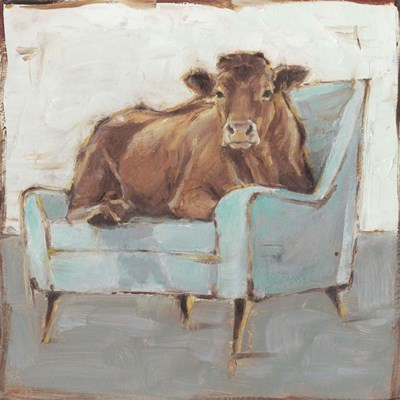 Moo-ving In IV art print by Ethan Harper for $53.75 CAD