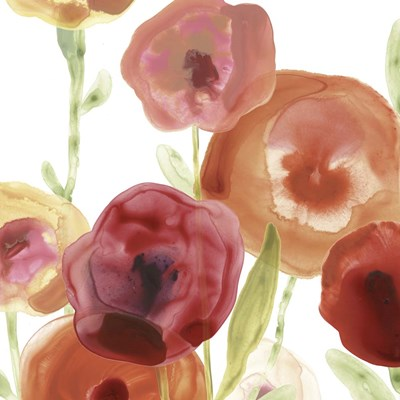 Poppy Patch I art print by June Erica Vess for $112.50 CAD