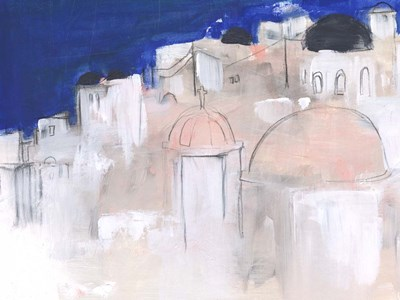 Mediterranean Blue II art print by Jennifer Parker for $63.75 CAD