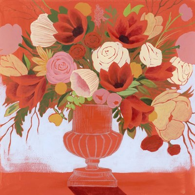 Blossoms on Fire I art print by Grace Popp for $112.50 CAD