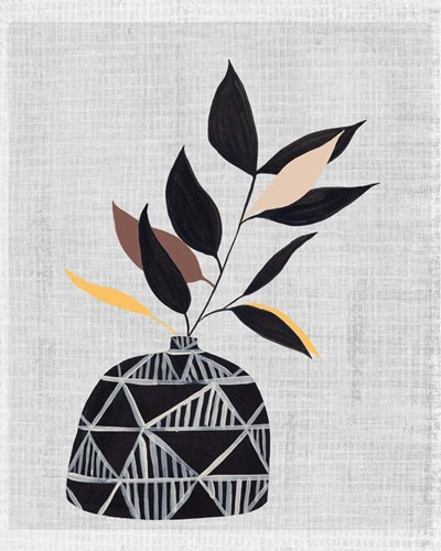 Decorated Vase with Plant IV art print by Melissa Wang for $111.25 CAD