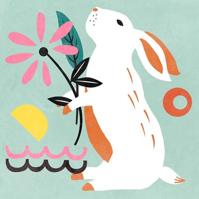 Easter Bunnies II art print by Melissa Wang for $68.75 CAD
