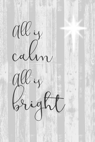 Blessed Christmas II art print by Jennifer Goldberger for $42.50 CAD