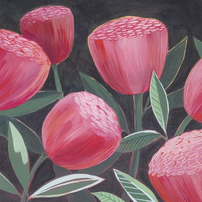 Blush Blossoms I art print by Grace Popp for $53.75 CAD