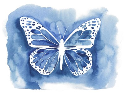 Butterfly Inkling I art print by Grace Popp for $38.75 CAD