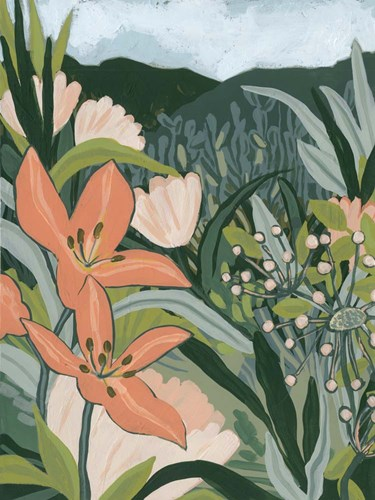 Spring Valley Blooms I art print by June Erica Vess for $63.75 CAD