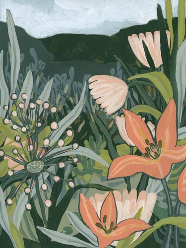 Spring Valley Blooms II art print by June Erica Vess for $63.75 CAD