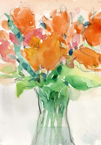 Cheerful Bouquet I art print by Sam Dixon for $48.75 CAD