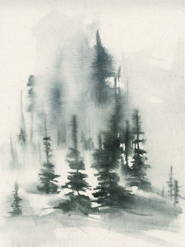 Misty Winter I art print by Jennifer Goldberger for $63.75 CAD
