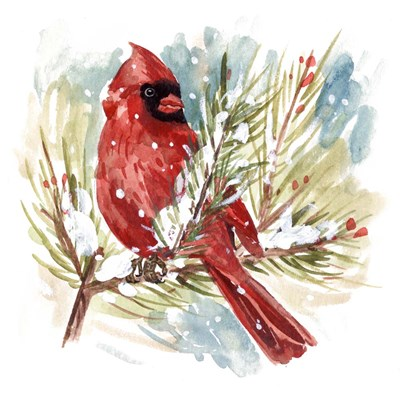 The Cardinal I art print by Melissa Wang for $53.75 CAD