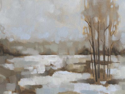 Snowscape II art print by Jacob Green for $63.75 CAD