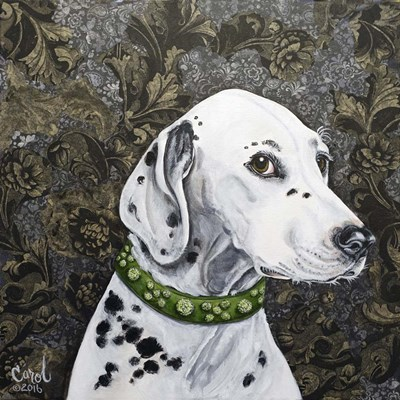 Playful Pup II art print by Carol Dillon for $53.75 CAD