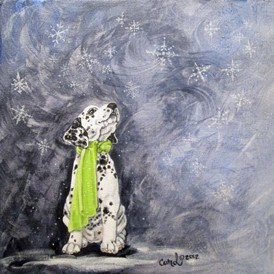 Playful Pup VII art print by Carol Dillon for $53.75 CAD