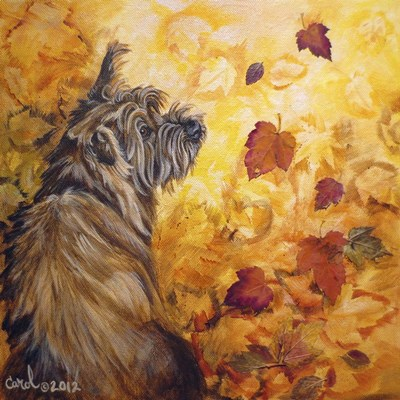 Playful Pup VIII art print by Carol Dillon for $53.75 CAD