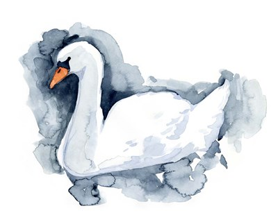 Silverlake Swan II art print by Jacob Green for $53.75 CAD