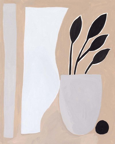 Pale Abstraction II art print by Melissa Wang for $53.75 CAD