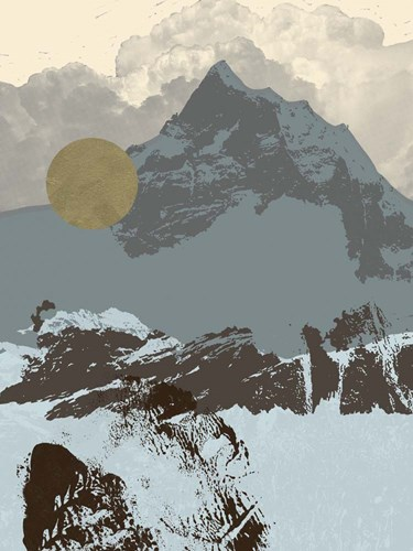 Pop Art Mountain I art print by Jacob Green for $63.75 CAD