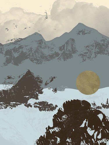 Pop Art Mountain II art print by Jacob Green for $63.75 CAD
