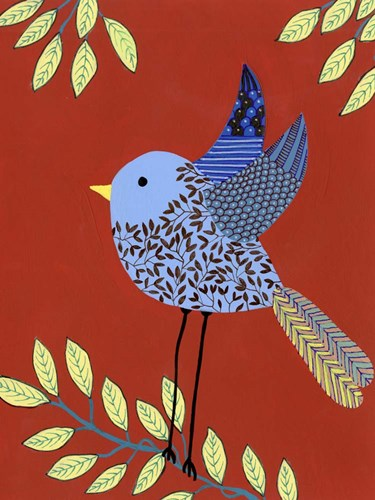 Patterned Feathers III art print by Regina Moore for $38.75 CAD