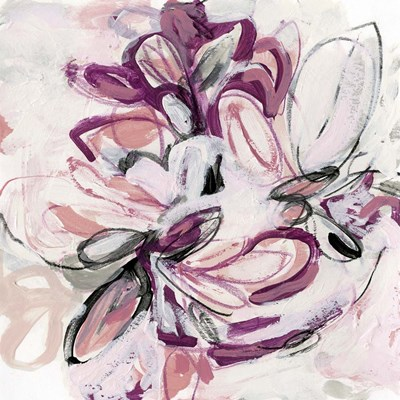 Fuchsia Floral II art print by June Erica Vess for $53.75 CAD