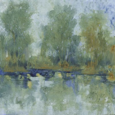Pond Reflection II art print by Timothy O'Toole for $61.25 CAD