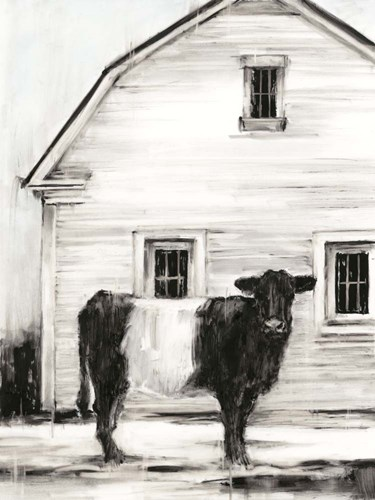 Belted Galloway I art print by Ethan Harper for $63.75 CAD