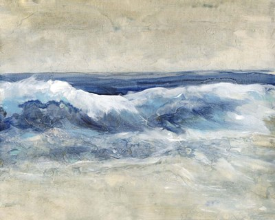 Breaking Shore Waves I art print by Timothy O'Toole for $53.75 CAD