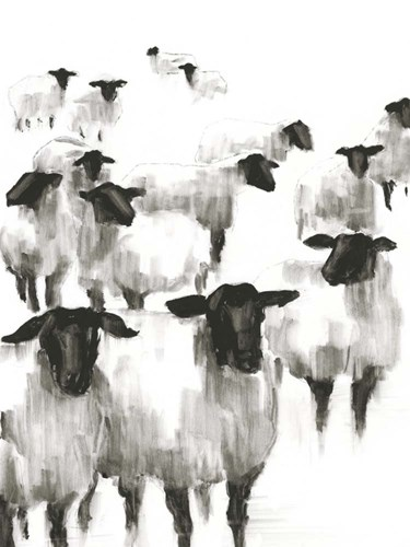 Counting Sheep II art print by Ethan Harper for $63.75 CAD