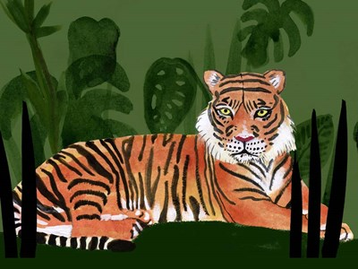 Tiger Tiger I art print by Alicia Ludwig for $38.75 CAD