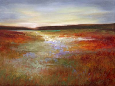 Light Across the Meadow I art print by Sheila Finch for $90.00 CAD