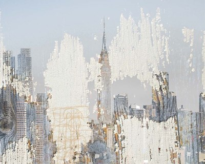 Textures of New York art print by Irena Orlov for $87.50 CAD