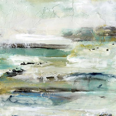 Aqua Coast II art print by Lila Bramma for $76.25 CAD