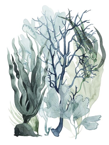 Sea Leaves IV art print by Grace Popp for $63.75 CAD